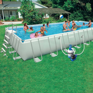piscine hors sol tubulaire Intex