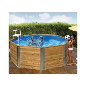 piscine en bois hors sol pas cher Weka