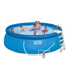 piscine autoportee Intex Aquella 457cm