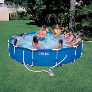 piscine tabulaire pas chere Intex