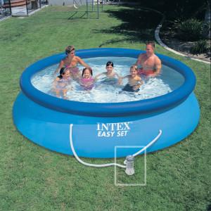 piscine autoportante pas cher Intex Dolfia 366cm