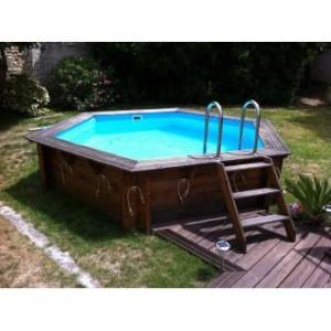 piscine bois hors sol pas cher Ubbink